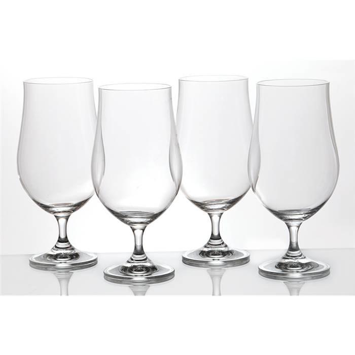 Bohemia Crystal п-да/сервир хол/нап 674-166 набор бокалов для пива из 4 шт.380 мл. (кор=12набор.) стекло