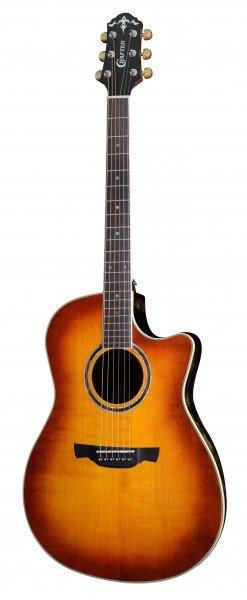CRAFTER WB-700CE/VTG + Чехол - электроакустическая. гитара Ovation, верхн. дека-ель, корпус-агатис