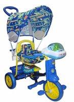Детский велосипед Jaguar трехколесный (цвет: синий)