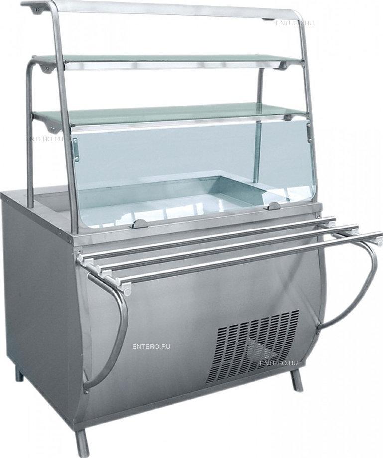 Витрина-прилавок холодильная Abat ПВВ(Н)-70Т-НШ