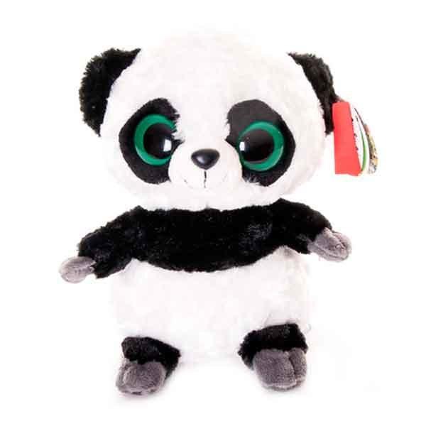 Мягкая игрушка Aurora Юху и его друзья 12-106 Панда, 12 см