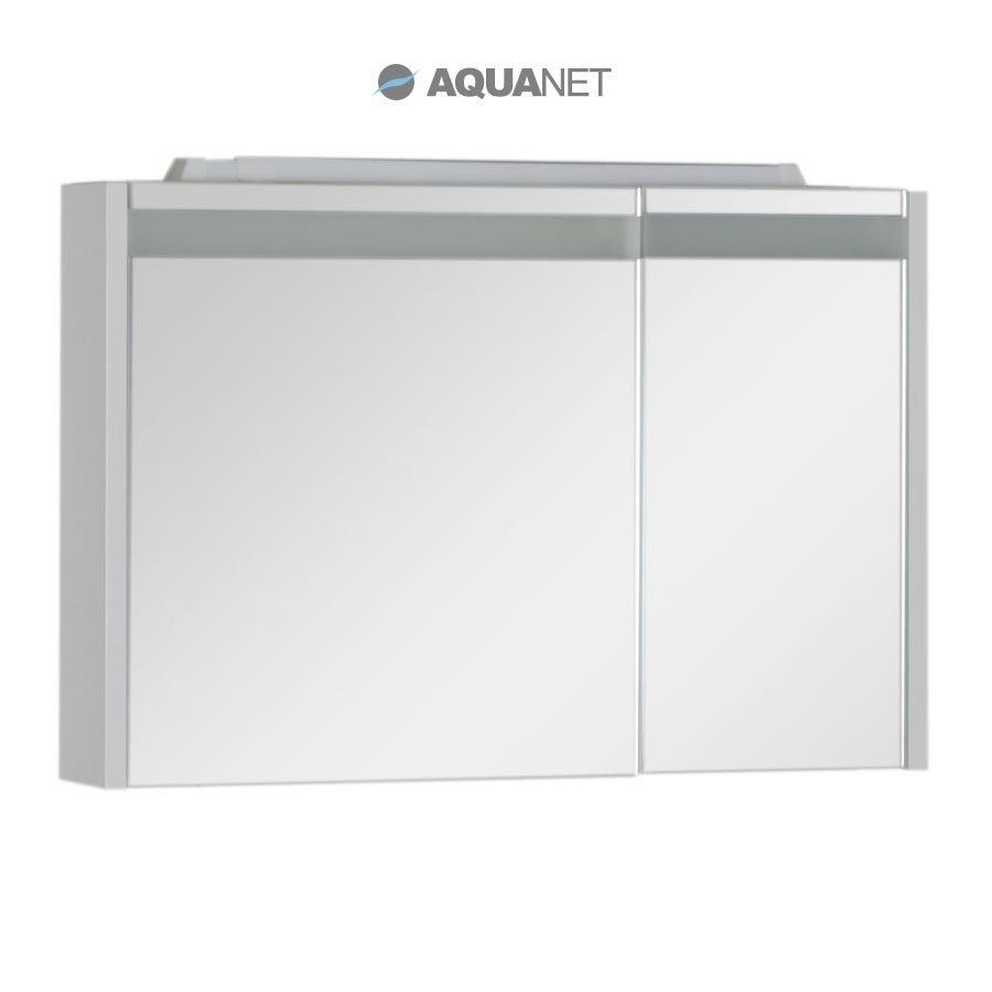 Aquanet Лайн 90 L 00165582 зеркало, белый