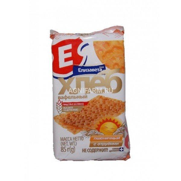 Елизавета ООО Хлеб вафельный пшеничный с отрубями елизавета 85г