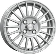 Колесные литые диски КиК (K&K) Калина-Спорт 6x15 4x98 ET30 D58.5 Серебристый тёмный (A6052) - фото 1