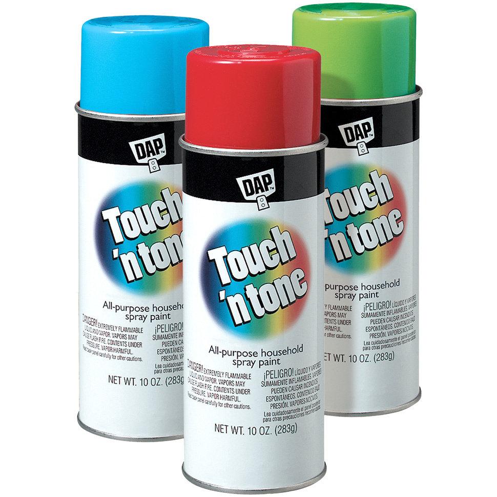 DAP Touch`n tone - универсальная аэрозольная краска