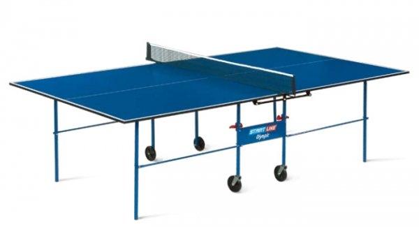 Теннисный стол для помещений START LINE Olympic с сеткой (Настольный теннис)