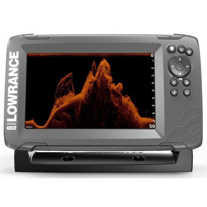 Эхолот-картплоттер Lowrance Hook2-7X GPS SPLITSHOT