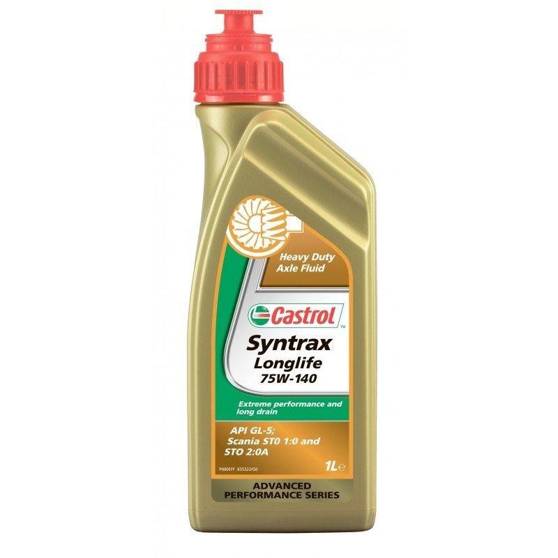 Трансмиссионное масло Castrol Syntrax Longlife 75W140 1л (1543AE)