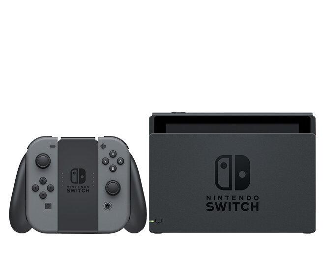 Игровая приставка Nintendo Switch (цвет серый)