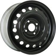 Колесные диски TREBL 7305T 6х15 5/114,3 ET43 66,1 black - фото 1