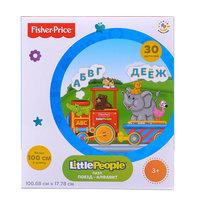 Fisher-Price Пазл Little People Поезд 30610