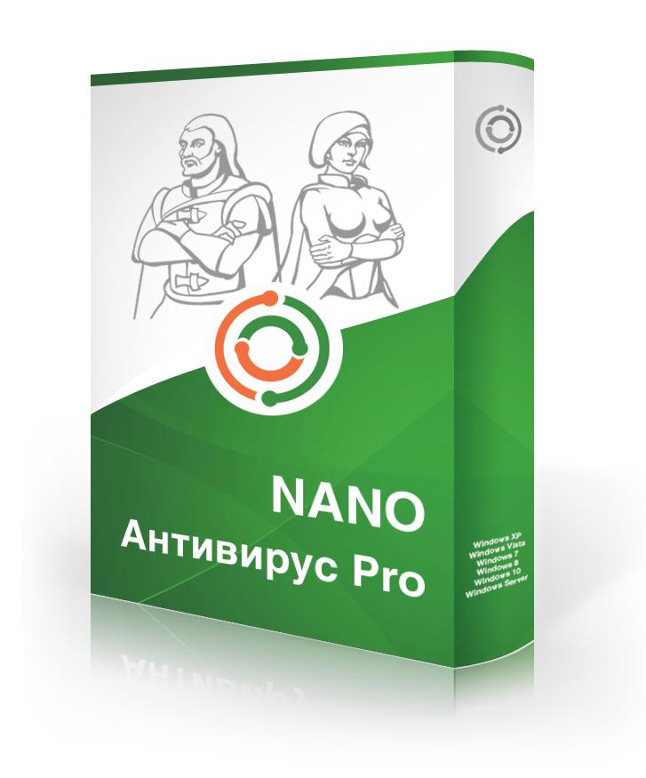 NANOSecurity NANO Антивирус Pro бизнес-лицензия от 20 до 49 ПК (стоимость лицензии на 1 ПК за 1 год) (NANO_BSN_20_49)