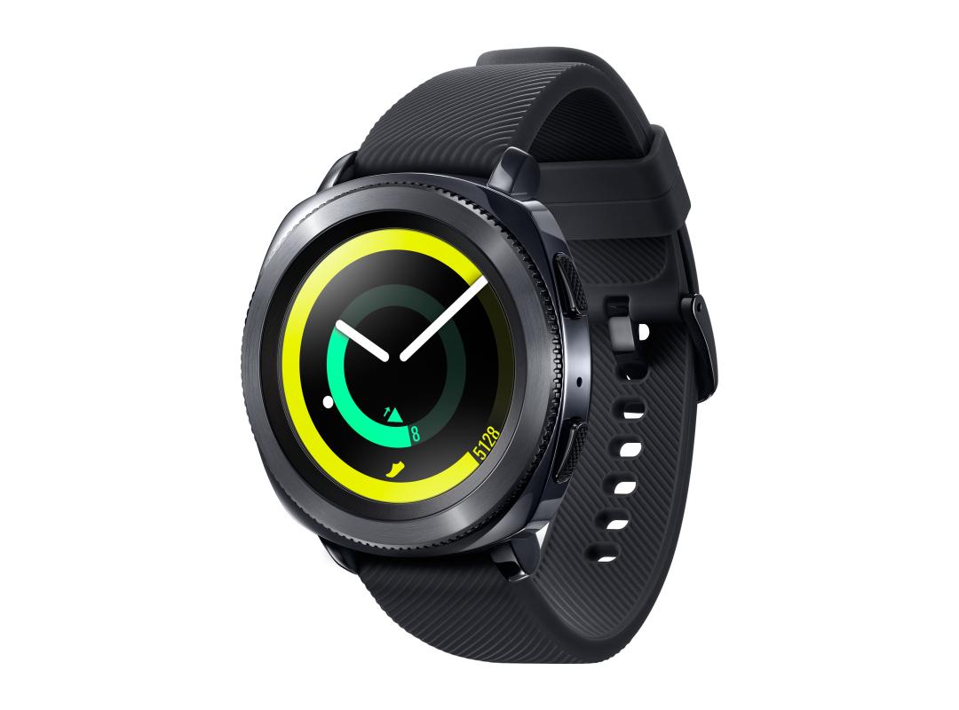 Samsung galaxy watch 42 мм, глубокий черный.