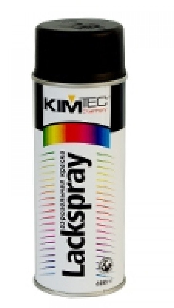 Аэрозольная краска Kim Tec / Ким Тек черная (0.4 л)
