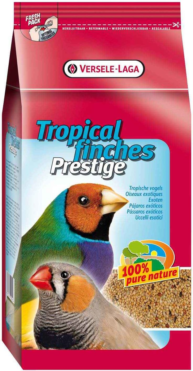 "Корм для экзотических птиц ""Prestige Tropical Finches"", 1 кг"