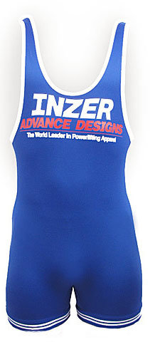 Inzer Singlet Xxxl blue