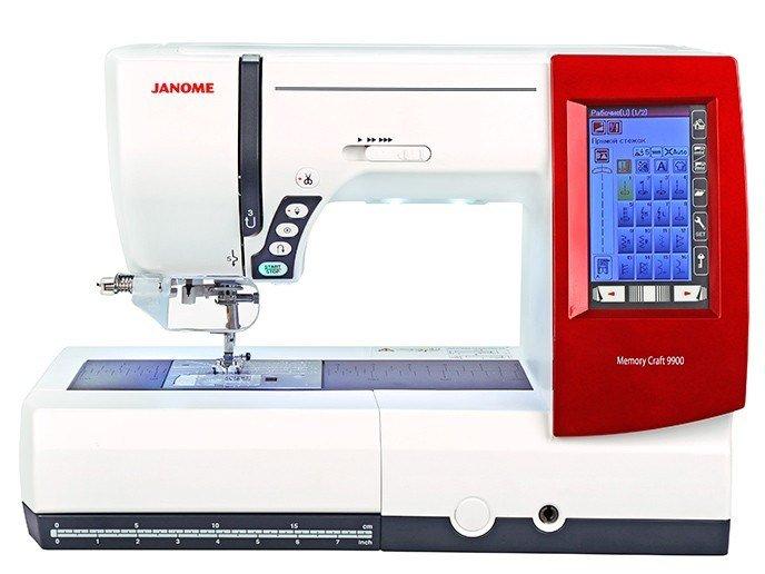 Швейно-вышивальная машина Janome Memory Craft 9900 (MC 9900)