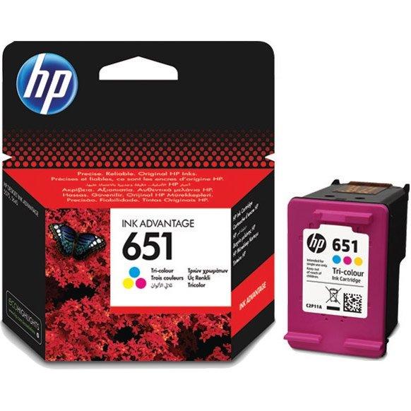 Картридж HP C2P11AE 651 цветной для Deskjet Ink Advantage 5645, 5575