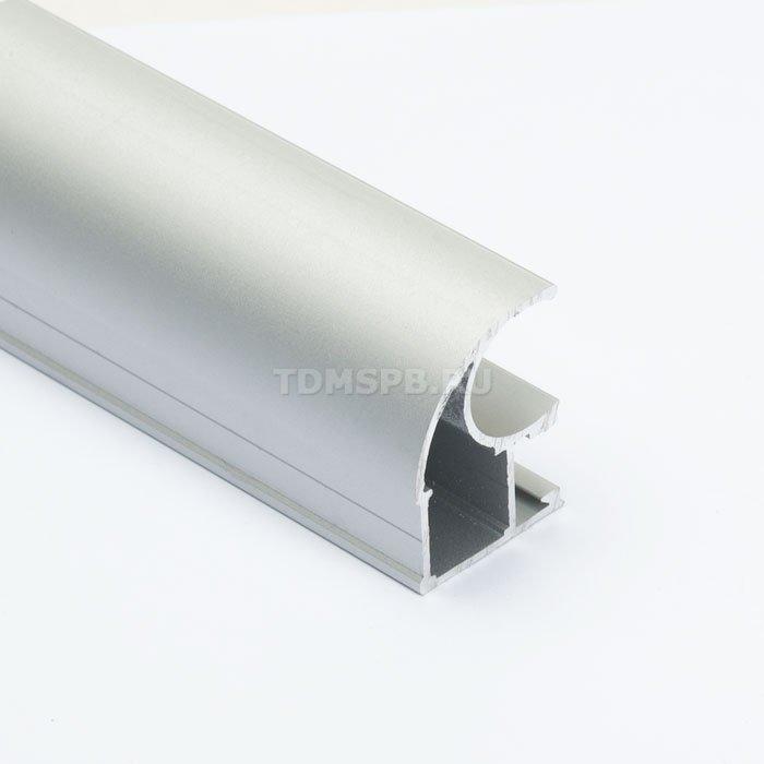 Профиль вертикальный асимметричный SIBO, серебро