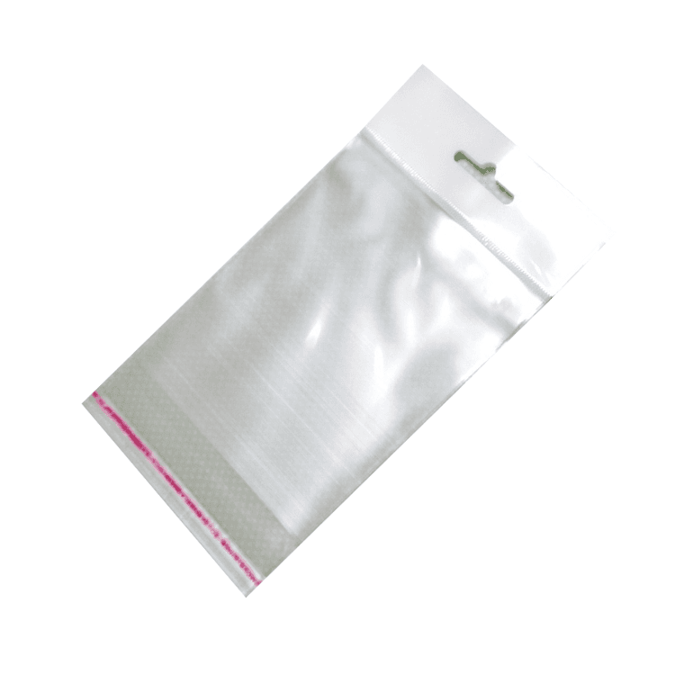 Пакет полипропиленовый 6*9 см. с еврослотом и клеевым клапаном. В упаковке 100 шт.