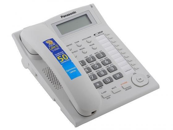 Телефон Panasonic KX-TS2388RUW белый