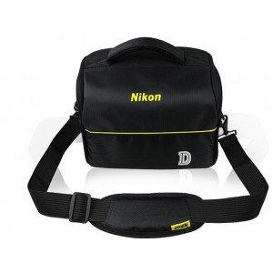 чехол-сумка-бокс для фотоаппарата Nikon D5500/COOLPIX B500/B700 с отделением для дополнительных аксессуаров из высоко материала