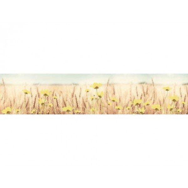 Кухонный фартук МДФ 0,6Х2,44М, пшеничное поле