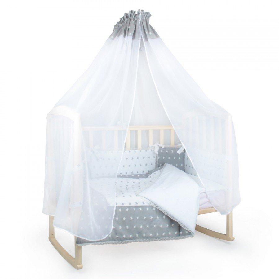 Детское постельное белье Alis Серебро (14 предметов)