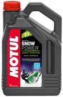 Мотормасло snowpower 2т 4x4л MOTUL арт. 105888