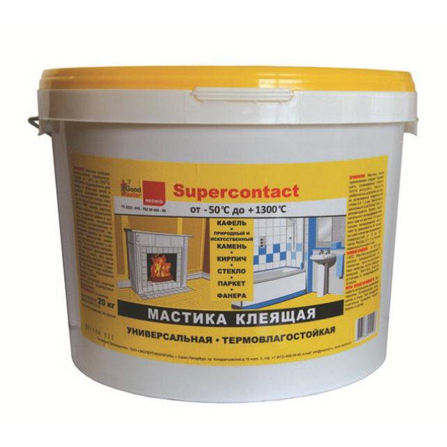 мастика клеящая neomid supercontact 20 кг