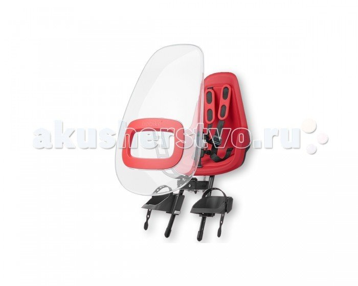 Bobike Ветровое стекло Windscreen ONE Plus для велокресел Красный