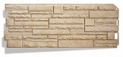 Фасадная панель (цокольный сайдинг) Альта-Профиль Скалистый камень Анды