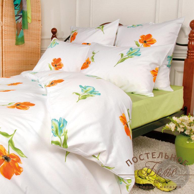 Постельное белье SL3355-7-8 Spring melody Citrus 2 спальное