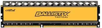 Модуль памяти DDR3 4GB Crucial BLT4G3D1869DT1TX0CEU Ballistix Tactical PC3-14900 1866MHz CL9 1.5V Радиатор RTL
