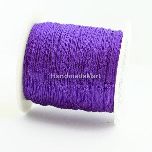 Шнур 0,5 мм, Нейлон, Фиолетовый