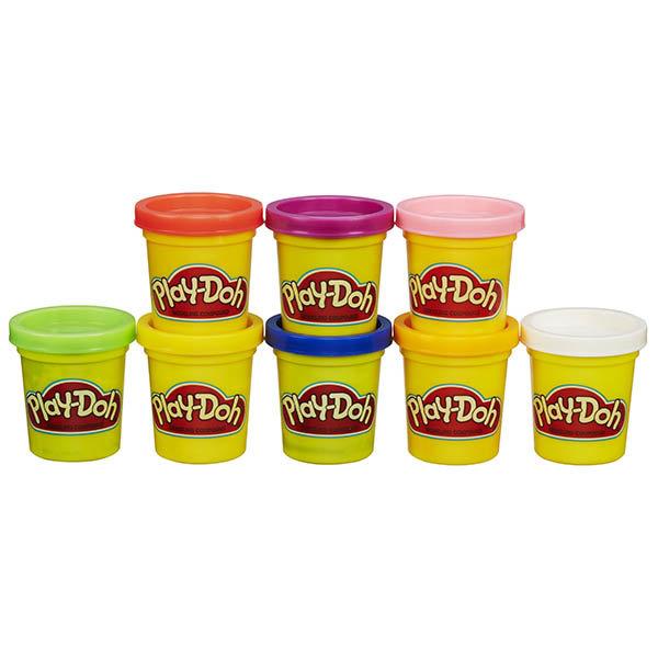 Пластилин и масса для лепки Hasbro Play-Doh A7923 Набор из 8 баночек