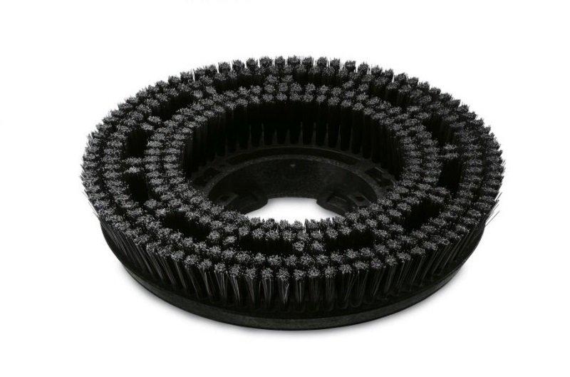 Дисковая щетка 550мм жесткая черная для стойких загрязнений Karcher 4.905-009.0