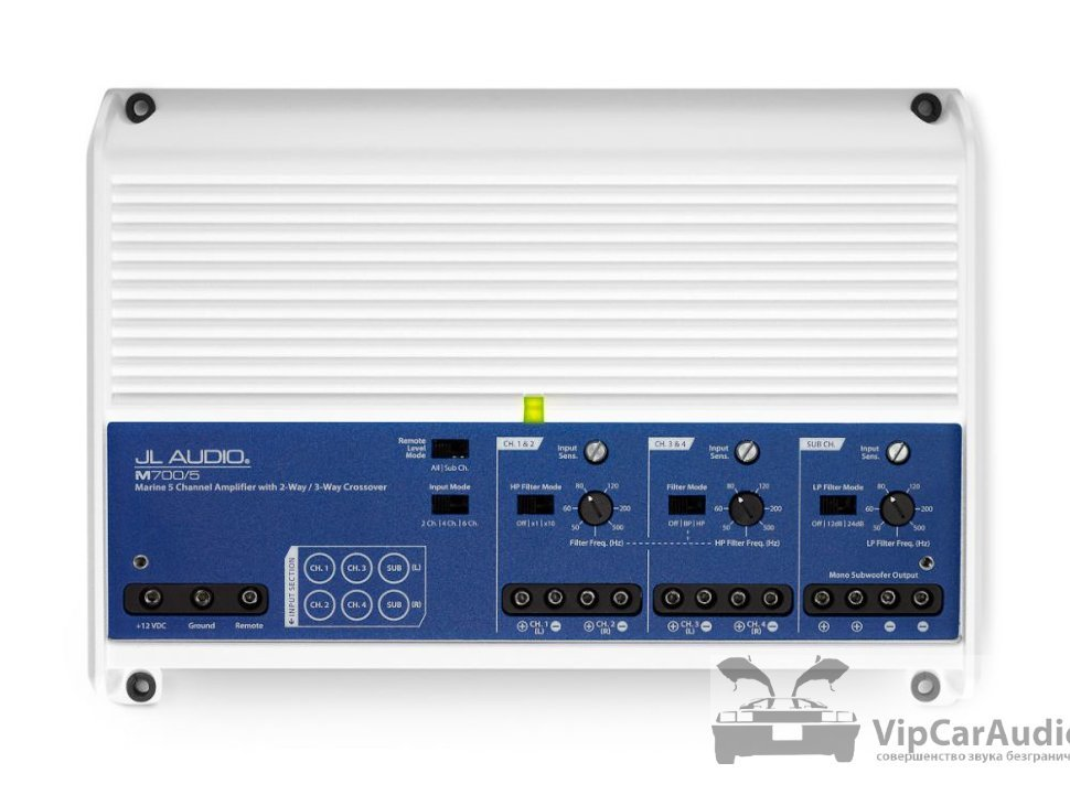 5-канальный морской усилитель JL Audio M700/5