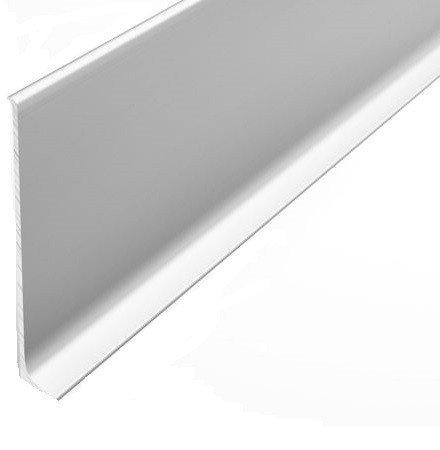 Алюминиевый напольный плинтус анодированный 78,5х11,2 мм., 1 м.п.