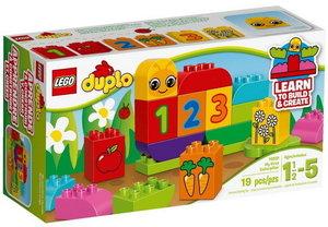 Конструктор LEGO DUPLO 10831: Моя веселая гусеница
