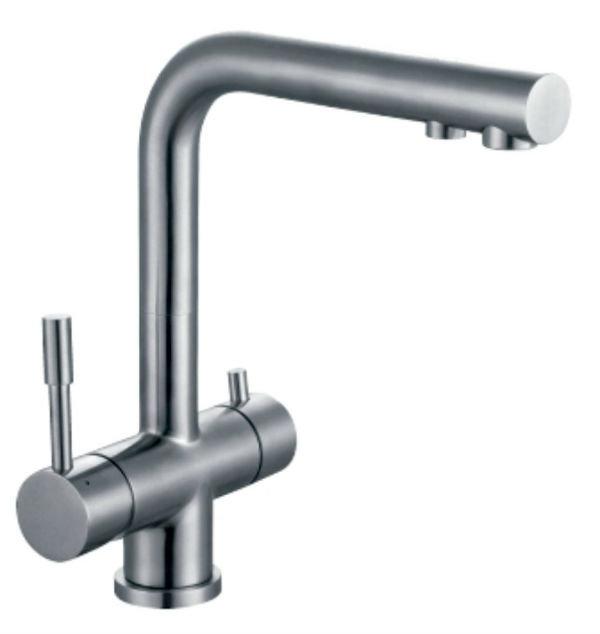 Смеситель для кухни под фильтр Zorg Inox SZR-1068 Illisio
