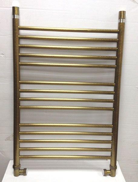 Полотенцесушитель водяной Богема прямая 800х500 Сунержа состаренная бронза арт. 05-0102-8050