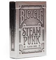 Игральные карты Bicycle Steampunk Silver, полупластик
