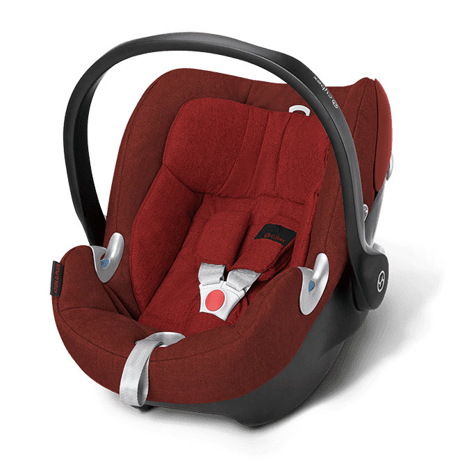 Автокресло 0+ Cybex Aton Q Plus Mars Red