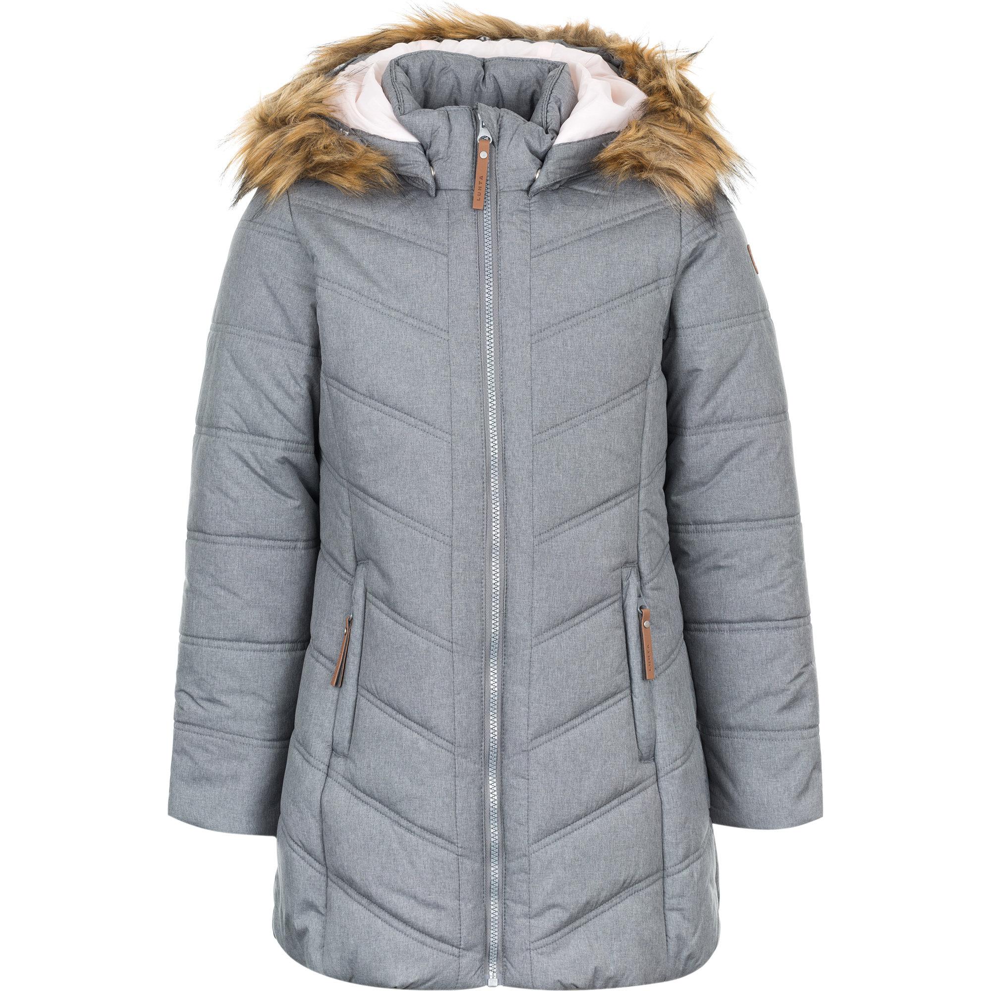 Куртки Luhta (Лухта) Пальто для девочки 838061376L6V/255 цена в Москве, отзывы, характеристики, видео обзор
