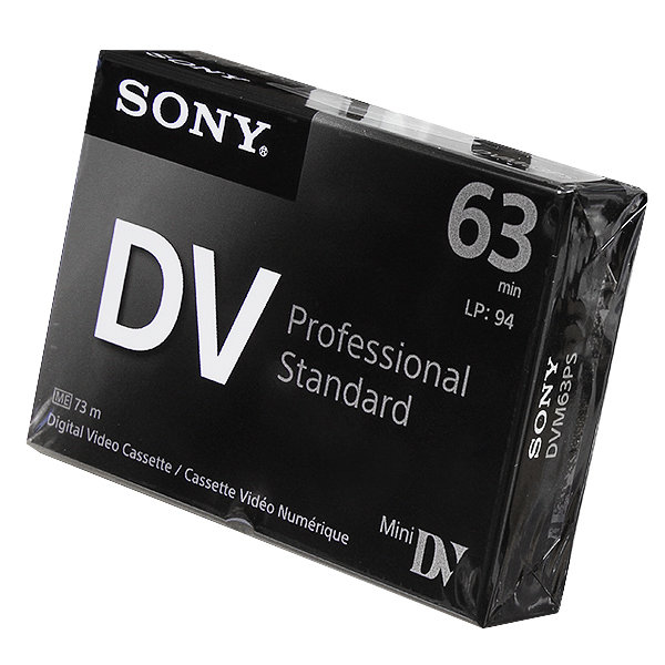 Видеокассета Mini DV Professional Standard (63 min)(DVM63PS)