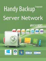 Novosoft Handy Backup Server Network + 5 Сетевых агентов для ПК + 2 Сетевых агента для Сервера (HBSN5AG2AGS)
