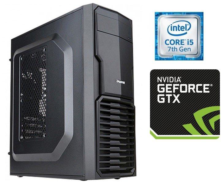 Игровой системный блок TopComp MG 5567683 (Intel Core i5 7500 3.4 ГГц, DDR4 8 Гб 2133 МГц, HDD 1000 Гб 7200rpm, GeForce GTX 1060 3072 Мб, No DVD, Без ОС)