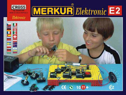 Металлический конструктор Merkur E2 - Электроника