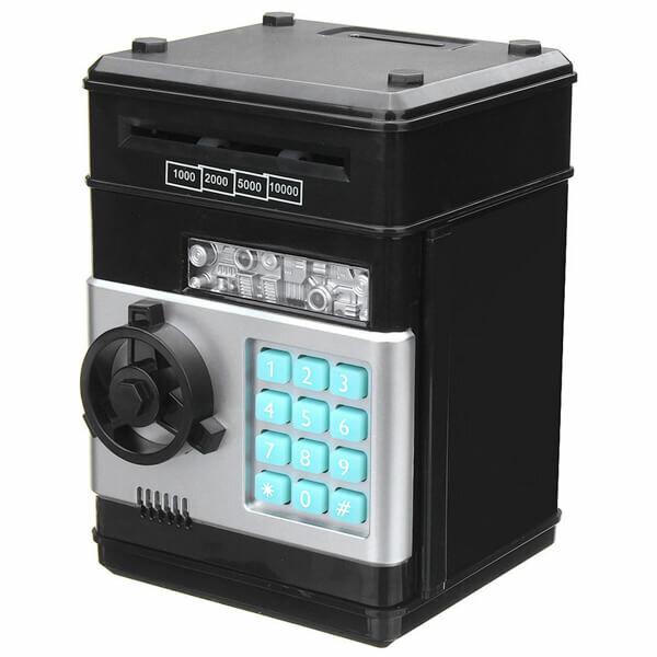 Электронная копилка «Персональный банк» черный